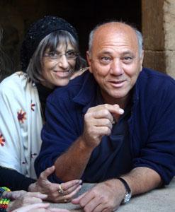 Nicki and beloved Egyptologist, Emil Shaker